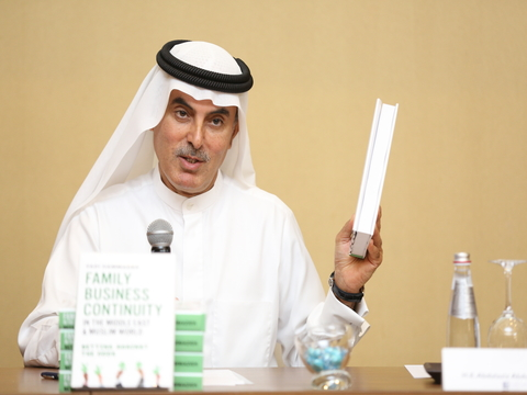 Family Business Council - Gulf Launches a Book with Guidelines on Family Business Succession Planning in the GCC